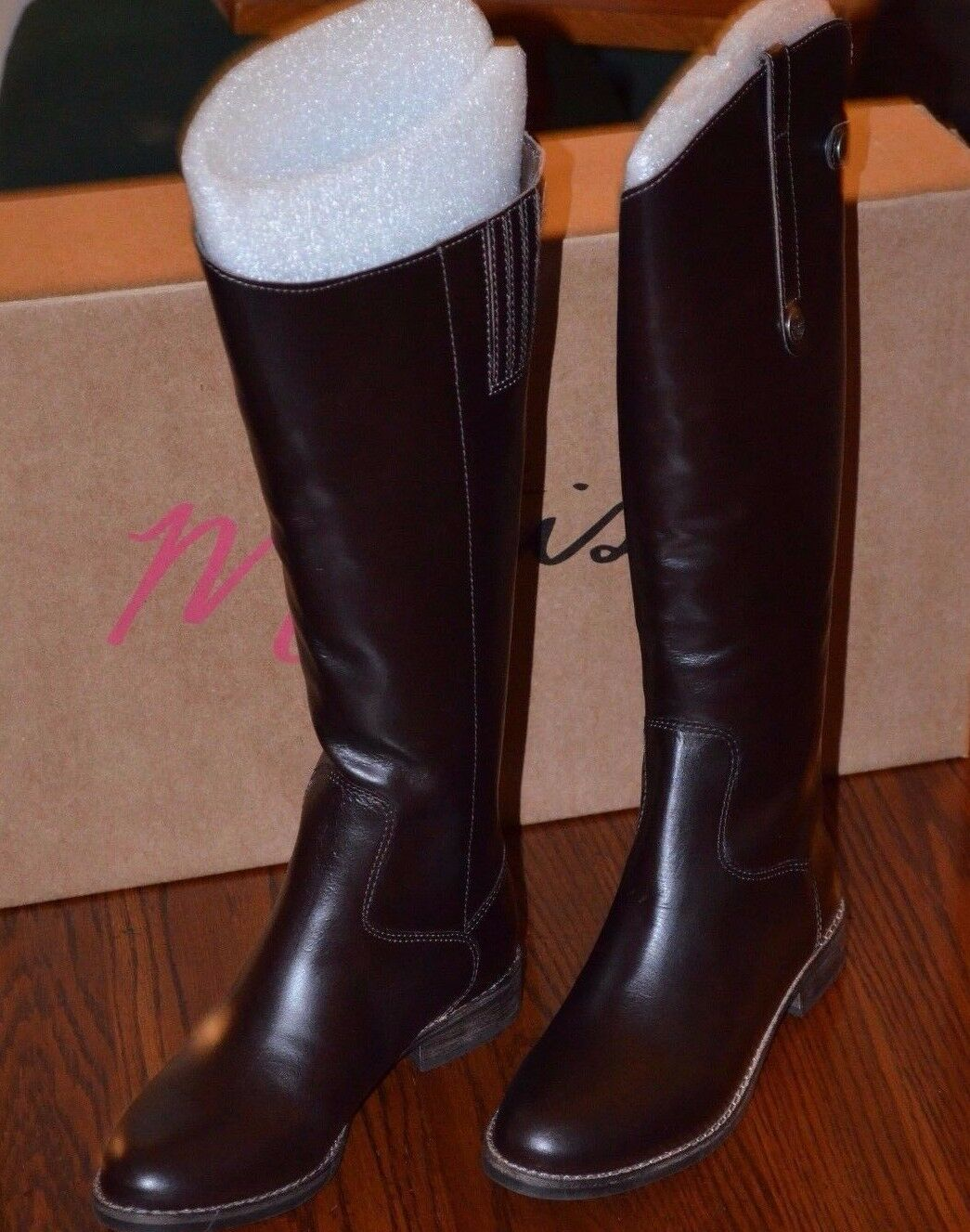 MATISSE Yorker Dark braun Brazilian Leather  Knee High Stiefel SZ 6 M MSRP  264