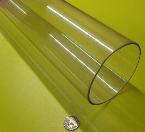 "-6831 4.0/"" x 3 3//4/"" Polycarbonate Lexan Clear Tube Tubing 4.00/"" x 3.75/"""