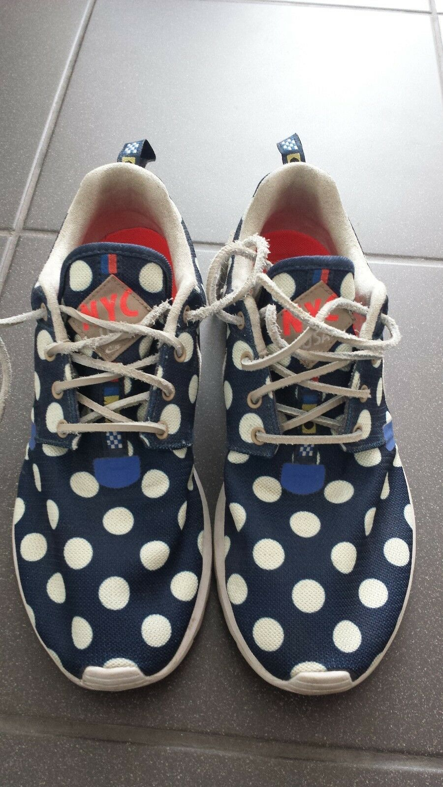 Nike Roshe Run NYC NYC NYC City Pack Dead Stock Punkte Dots Limited Edition Gr 39 US 6,5 63b69f