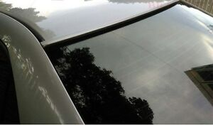 JR2 Painted Black Color for 2011 2012 2013 2014 2015 2016 2017 BMW 5-Series 6th Generation Rear Window Roof Spoiler