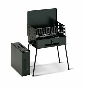 Koffergrill-Klappgrill-Faltgrill-Camping-Grill-Klappbar-Notebookgrill-Holzkohle