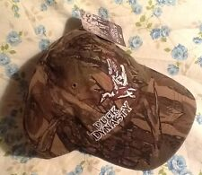Duck Dynasty Woodland Camo Strap Back Hat NWT