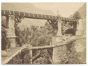 Francia-per-Identificare-Vintage-Albumina-Ca-1875-Piccolo-Formato-6-2x8-6cm