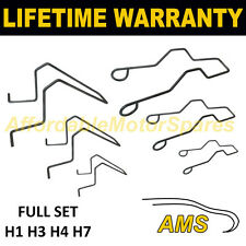 UNIVERSAL HEAD LAMP REPLACEMENT HEADLAMP BULB RETAINING SPRING CLIP H1 H3 H4 H7