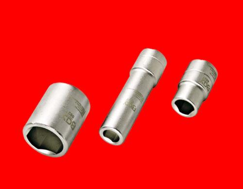 3 tlg 3-Kant Nuss Für Diesel Bosch Verteiler Delphi Einspritzpumpe B8827 Spez