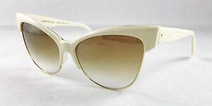 329fa1ad27d38 Dita Temptation 22029-C-CRM-GLD-61 Cream18K Gold   Brown sunglasses ...