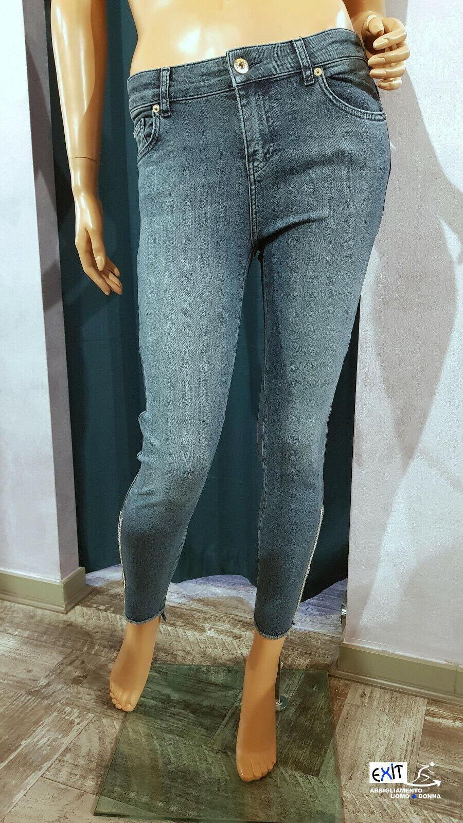 Denny pink jeans con applicazioni art. 911ND26007 collezione Jeans p.e. 2019