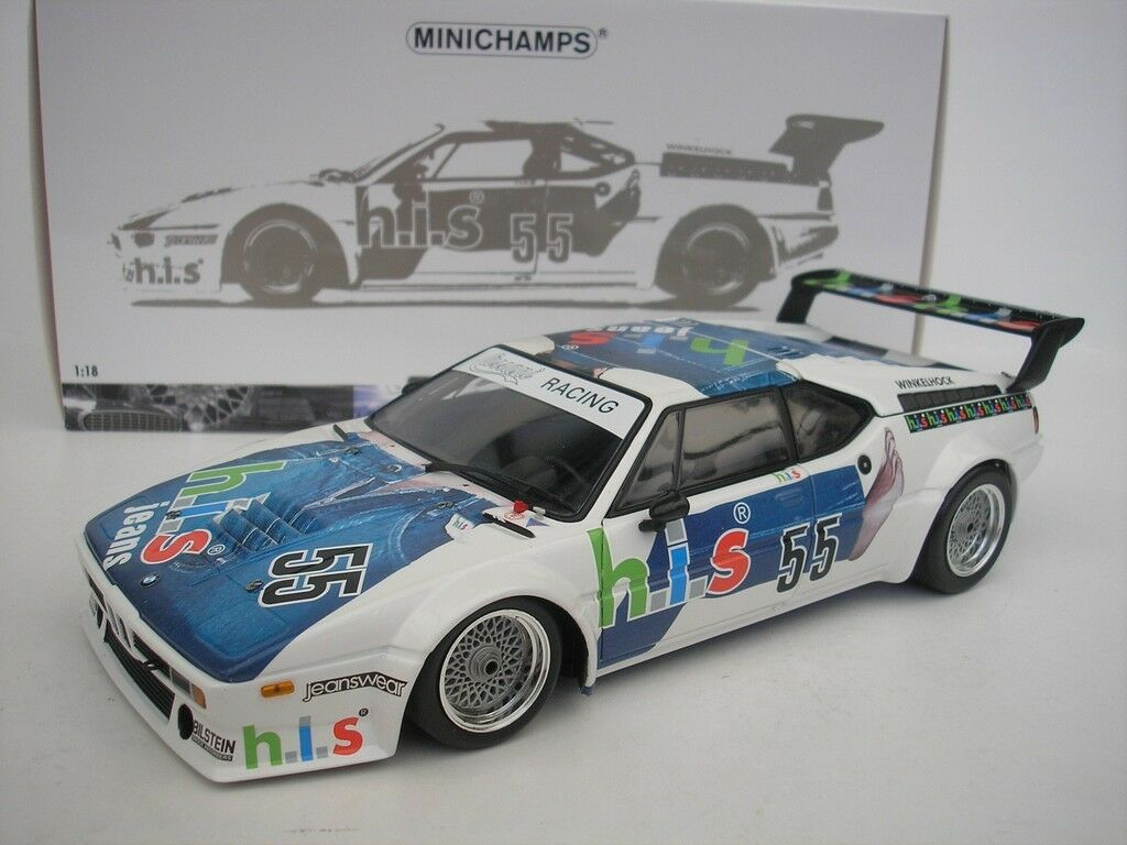 BMW M1    55 PROCAR SÉRIE 1980 M. ANGLE DU JARRET 1 18 MINICHAMPS 180802955 NEUF f02bbb