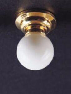 1-12-Echelle-Maison-De-Poupees-Luminaire-De-Plafond-Avec-Demontable-Blanc-Globe