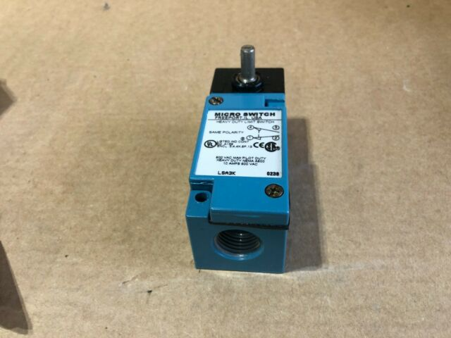 Honeywell LSA3K Micro Limit Switch 10 Amp 600vac for sale online