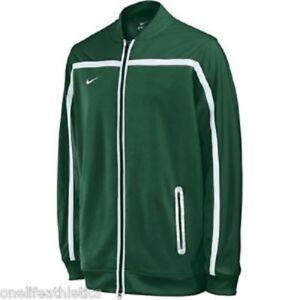 Détails sur Nike Homme BB10 Échauffement Veste Zip Up VertBlanc 100% Polyester