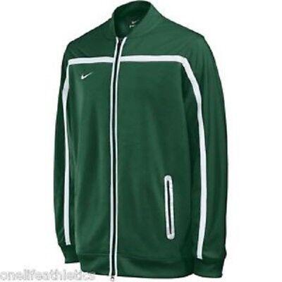 Nike Homme BB10 Échauffement Veste Zip Up VertBlanc 100% Polyester   eBay