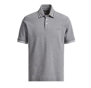 8f8e040dd65ac Ermenegildo Z ZEGNA Grey 100% Cotton Pique Polo Shirt RRP: £135.00 ...