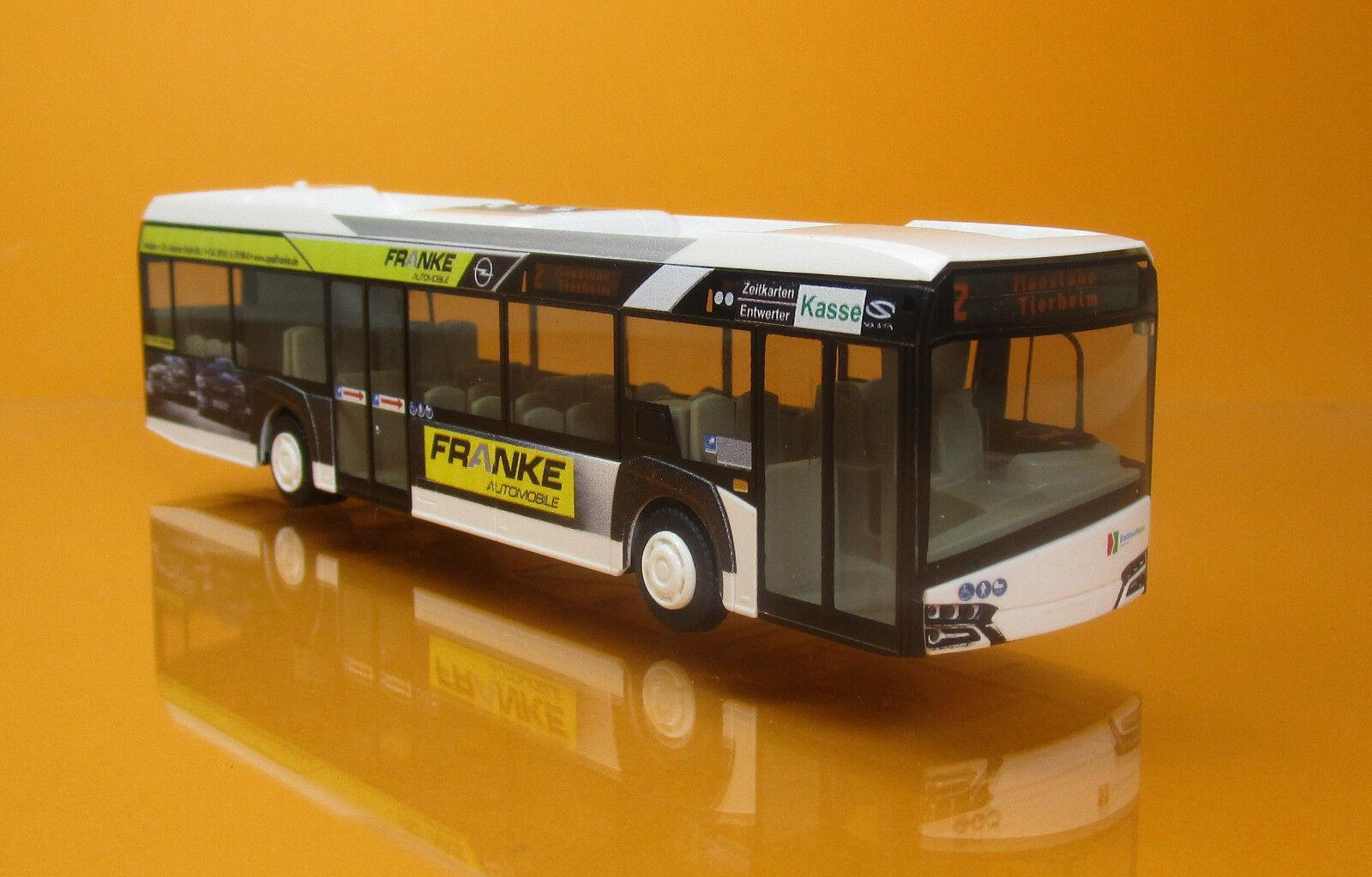 Rietze 73026 Solaris Urbino 12 Model l14 Stadtbus Weiden Opel Opel Opel Franke Bus 1 87 6dd0ae