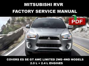Mitsubishi rvr 2013 2014 2015 oem shop service repair manual image is loading mitsubishi rvr 2013 2014 2015 oem shop service asfbconference2016 Images