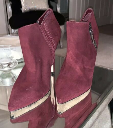 Carvela Boots Ankle Boots Ankle Red Deep Deep Red Red Deep Carvela Carvela aUIpSqcnH