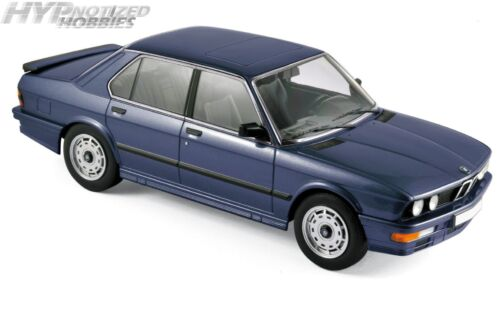 NOREV 1:18 1987 BMW M 535i DIE-CAST BLUE 183267