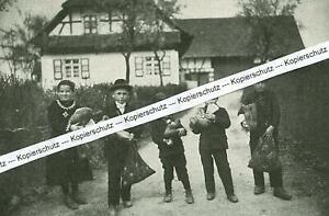 Goldscheuer im Hanauerland - Osterbrauch - Kinder - um 1935    S 18-8