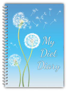 diet food diary slimming tracker food weight loss dieting journal
