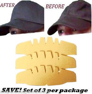 Ahorra 3 Pk Beige Caps Corona Insertos Hat