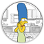 IN-STOCK-2019-The-Simpsons-Marge-Simpson-1oz-1-Silver-99-99-Dollar-Proof-Coin thumbnail 5