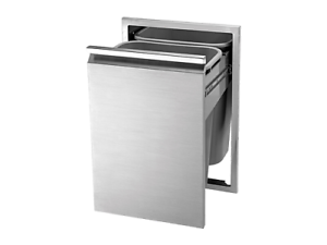 18-034-Twin-Eagles-Double-Tall-Trash-Drawer-TETD182T-B-2-Trash-Cans-Included