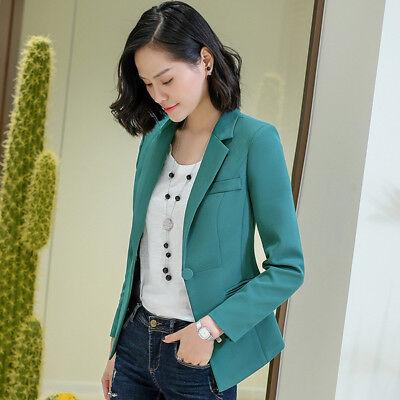 giacca elegante verde donna