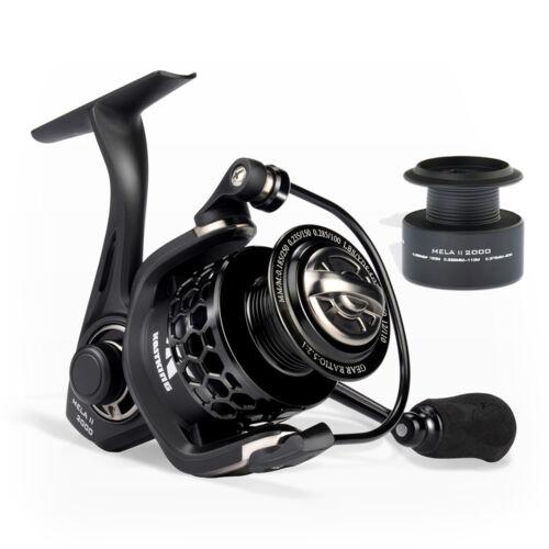 Light Smooth Spinning Fishing Reel KastKing Mela II 4000 Spinning Reel