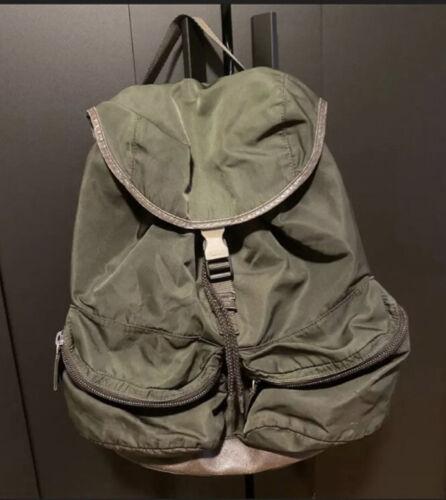 PRADA  Tessuto Nylon Leather Backpack