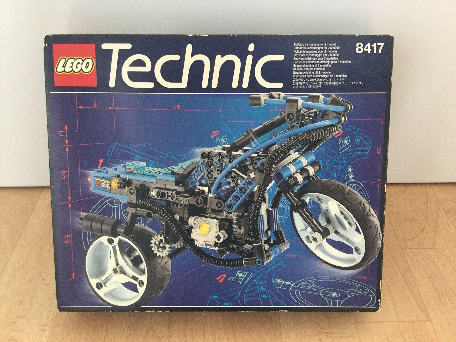 Lego Technic Motorbike 8417 - Rare Set - NEW