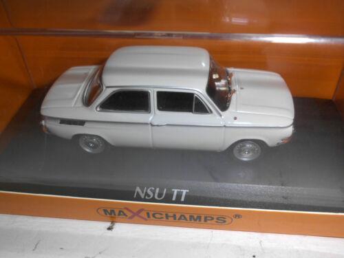 Maxichamps 1:43 940015300 NSU TT 1967 WHITE NEU OVP