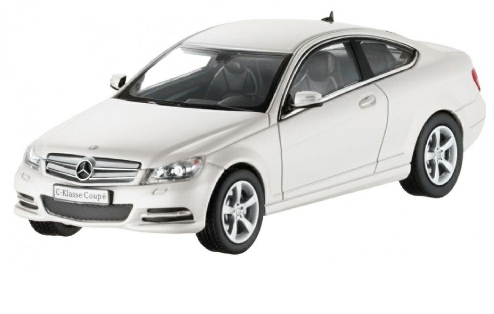 NOREV 1 43 Mercedes-Benz C-Class Coupé C204 - white genuine new