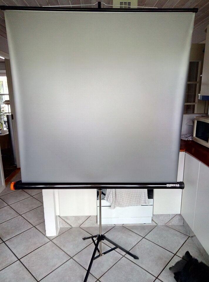 Fremviserlærrded, Reflector silber 125 x 125 cm., Perfekt