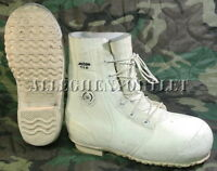 US Military ACTON / AIRBOSS ECW MICKEY MOUSE BUNNY BOOTS w/ Valve White 11 R VG