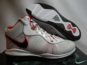lebron 8. image is loading nike-lebron-8-v-2-white-black-sport- lebron 8
