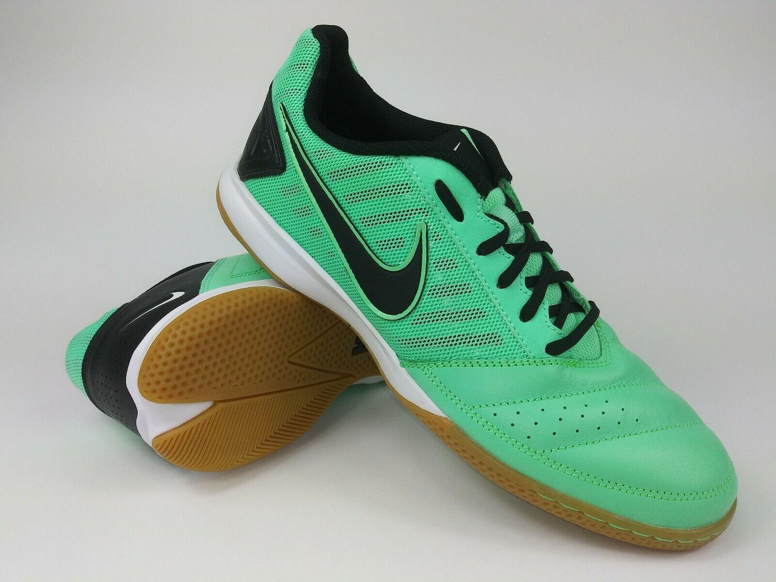Nike Hombre Raro,Antiguo Gato II 580453-301 verde Brilla Fútbol Indoor Zapatos