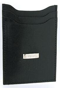 Artamis-Business-Smart-Black-Striped-Leather-Credit-Card-Holder-Money-Clip