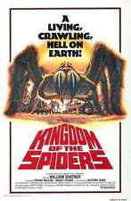 Kingdom Of The Spiders Poster 02 Metal Sign A4 12x8 Aluminium