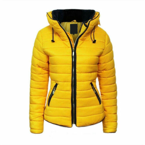 Girls Fur Collar Hooded Puffer Warm Winter Girls Cosy Quilted Padded Jacket Coat