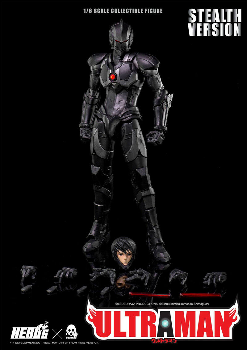 ThreeA 1 6 Ultraman SUIT Action Figure 3A Collectibles  STEALTH VERSION New