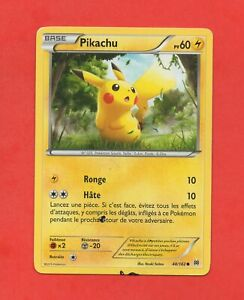 POKEMON PIKACHU 48//162 COMMON NM CARD  FROM XY BREAKTHROUGH