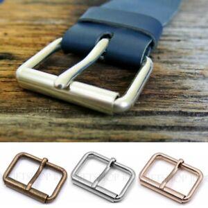 """PACK 10 pcs 20mm 3//4/"""" inch Rectangle Center Heel Bar Metal Buckle for Belt Strap"""