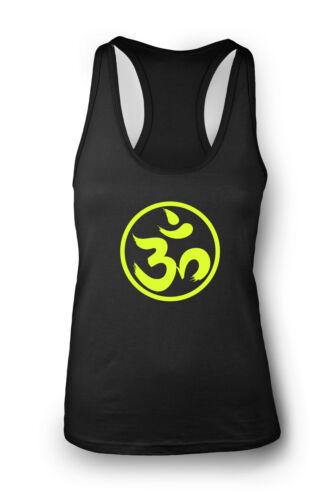 Om Spiritual Gym Vest Women Racerback Yoga Workout Vest Tank Sports Top Clothes