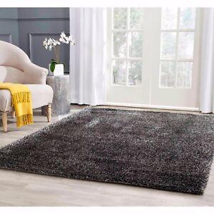 Area Rug Living Room Shaggy 5x7 8x10 Ebay