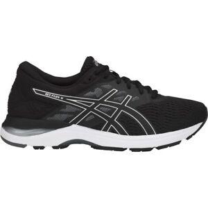 Asics-T811N-9093-GEL-Flux-5-Black-Silver-Carbon-Men-039-s-Running-Shoes