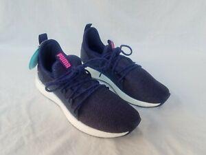 Details zu New Women's Puma NRGY Neko Knit Sneaker Peacoat & Pink