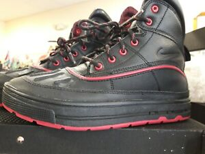 nike high top black/ red/ casual tennis shoes size 55  ebay