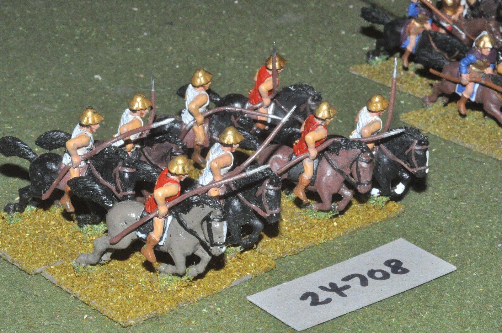 25mm classical   greek - light 8 figures - cav (24708)