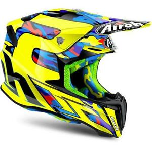 TWTC16 HELMET AIROH TWIST TC16 GLOSS CROSS ENDURO OFF ROAD SIZE L