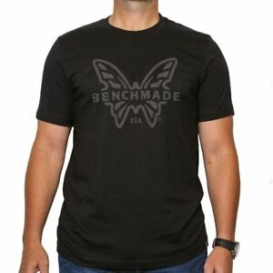 BENCHMADE SUBDUED BLACK T-SHIRT - XXL - Authorized Dealer!